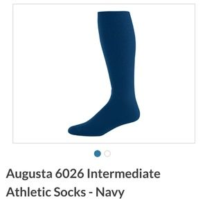 NWT 3/$25 Augusta Sportswear Athletic Sock Int.